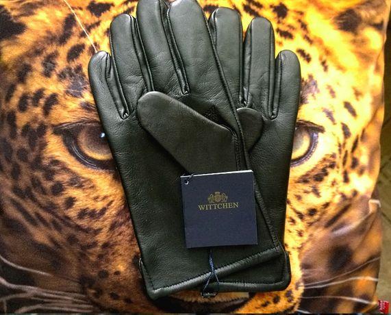 Перчатки кожаные от топового бренда WITTCHEN l В два-три раза дешевле!