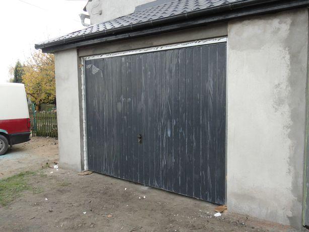 Brama garażowa uchylna 208x194 antracyt ocieplona Dostawa Gratis