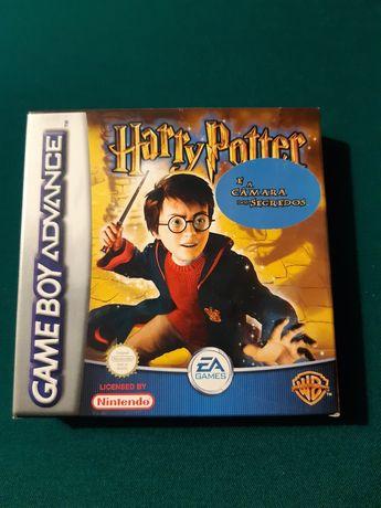 """Jogo """"Harry Potter e a Câmara dos Segredos"""" para Game Boy Advance"""