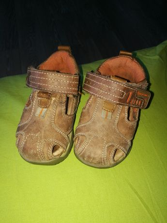 Sandałki skórzane Baren Schuhe rozm. 19