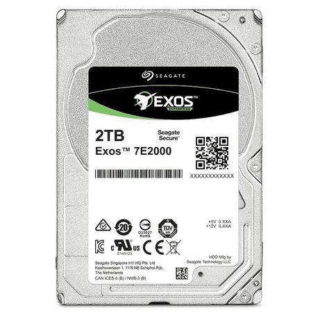 Hybrydowy Seagate Exos 7E ST2000 - ST2000NX0253 - NAS, serwer