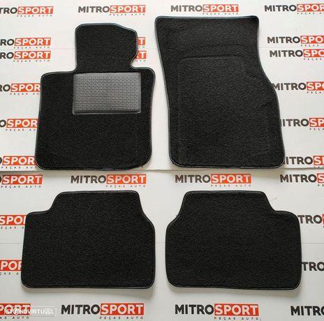 Jogo de 4 Tapetes para Audi A4 (B6) 8E/8H de 2001 a 2005 | Mitrosport