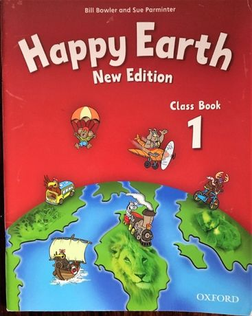 Happy Earth class book new edition + płyta