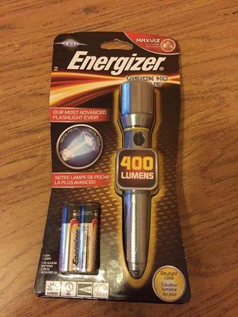 Nowa metalowa latarka ledowa Energizer.