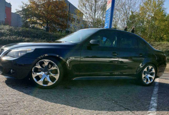 Styl 121 BMW E60 19 cali 9J i 8,5 5x120 ET18 ET14 Opony 245/40 275/35