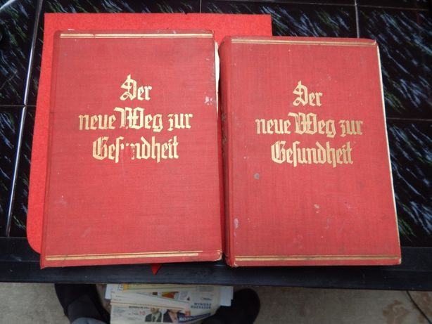 ksiązki lekarskie pisane niemieckim gotykiem