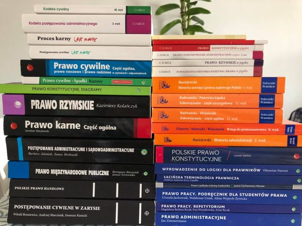 książki / podręczniki PRAWO