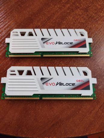 Geil Evo Veloce 4Gb x 2 (8Gb Kit) DDR3, 1600 MHz (PC3-12800)