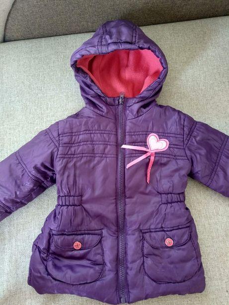 Куртка на флісі на осінь-весна