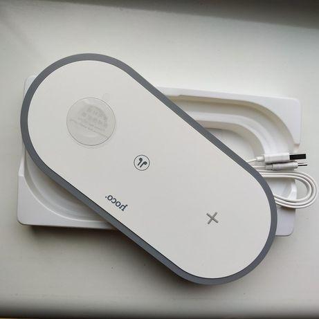 Беспроводное зарядное устройство Hoco 3 в 1 for Iphone 24W