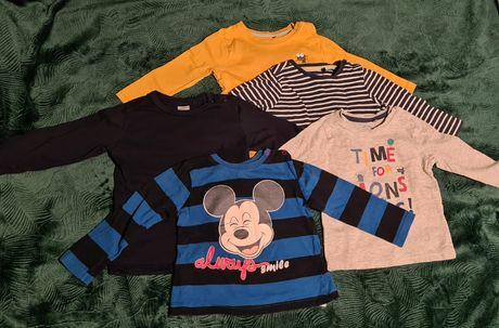 Koszulki - Cool Club, H&M, Disney rozm. 80
