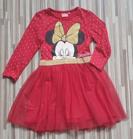 Sukienka dziewczęca Minie Disney 134