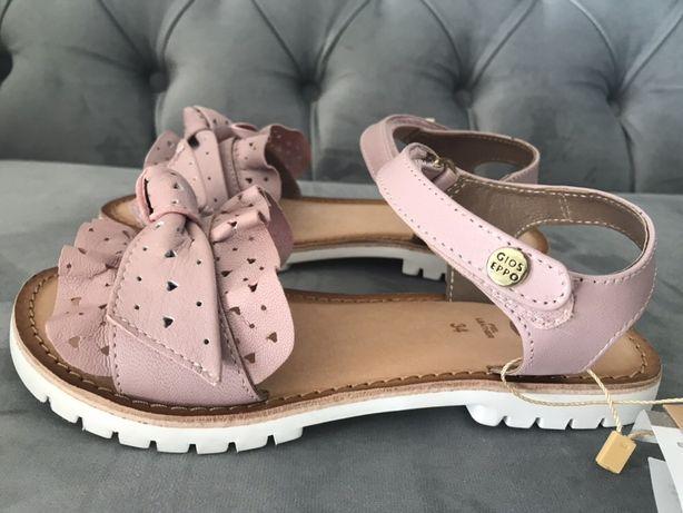 GIOSEPPO ANZIO rozm. 34 NOWE sandały dla dziewczynki 100 % skóra