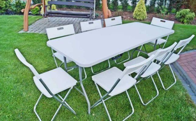 Wynajem stołów i krzeseł na imprezy, plenery, komunie