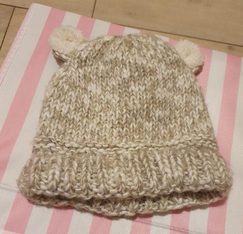 Детская, Тёплая, вязаная шапка Zara
