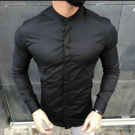 Рубашка мужчкая сорочка чоловіча стійка