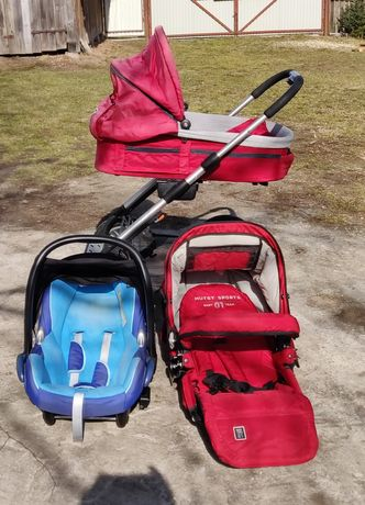 Wózek Mutsy 3w1 fotelik Maxi Cosi
