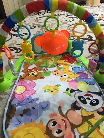 Продам Детский музыкальный развивающий коврик с пианино