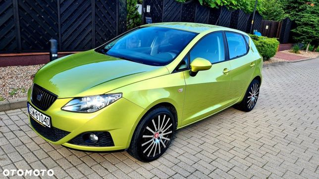 Seat Ibiza 1.4i Led Klima Mp3 Limonkowa Perła Zamiana