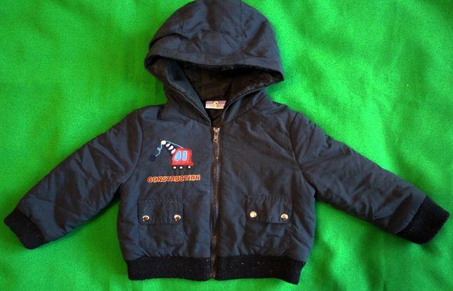 Демисезонная куртка для малыша на 3-6 месяцев