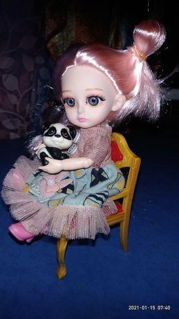 Кукла шарнирная,15 см