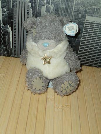 Новогодний мишка Тедди в свитере, оригинал