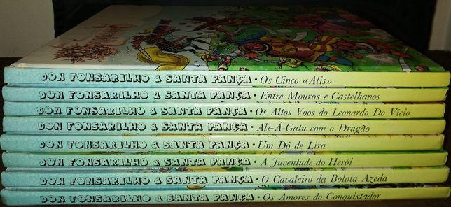 Don Fonsarilho & Santa Pança - Colecção anos 80