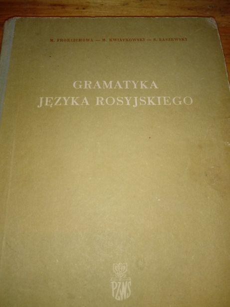 książki i słownik z jęz. rosyjskiego