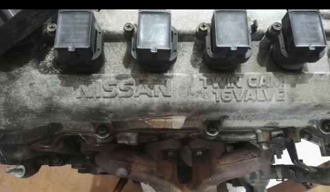 Motor  nissan micra twin cam