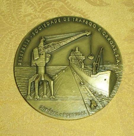 """Medalha em Bronze """"Setefrete""""- Comemoração dos 25 anos"""