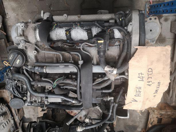 Silnik alfa Romeo 147 1.9 jtd