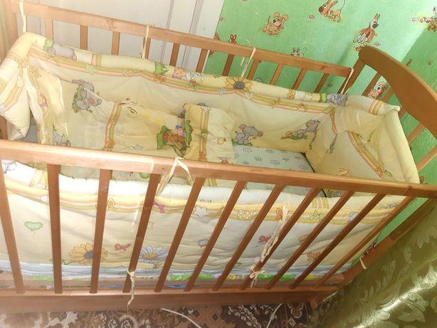 Кроватка детская наталка.бук.