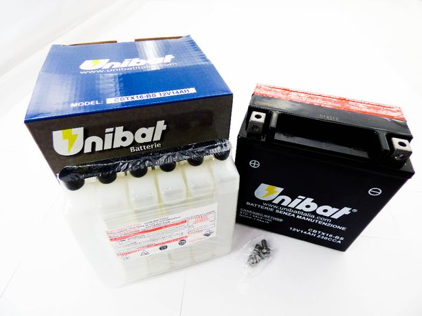 Akumulator Unibat 12V 14Ah - CBTX16-BS L+ Akumulatory Warszawa