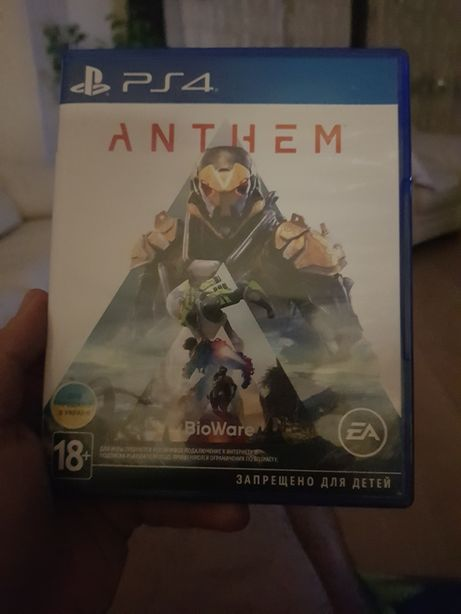 Anthem  игра на ps4