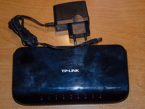 Свіч TP-Link TL-SG1008D, 1Gb