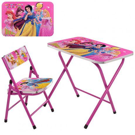 Столик со стульчиком складной Bambi Disney Princess A19-PRCrimson