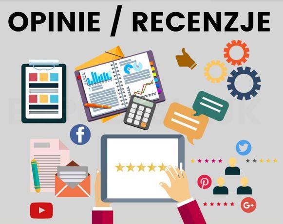Opinie / Recenzje | FV 23% | Facebook | Google | Tripadvisor | I INNE