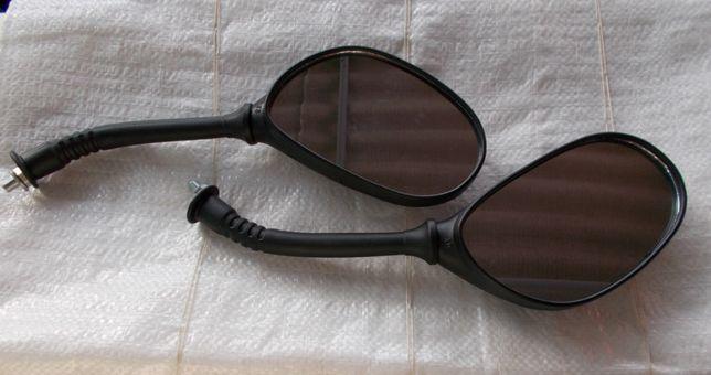 Зеркало заднего вида на мопед-скутер