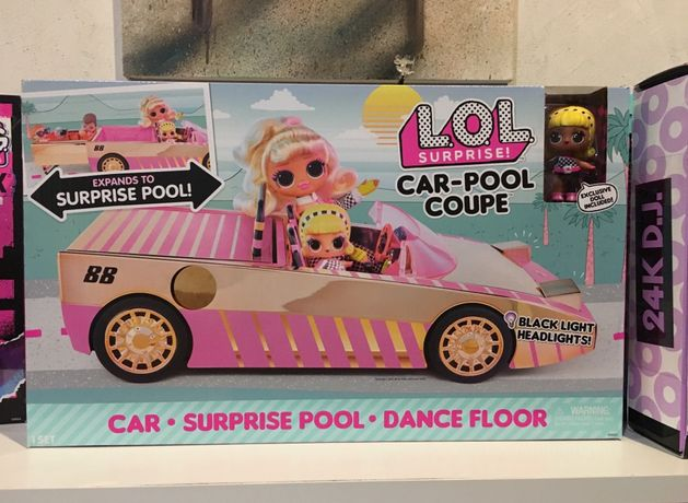 Лол Кабриолет, авто, машина с куклой 565222 Оригинал В наличии