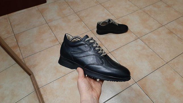 40-41р,стелька26,5см,Кожаные ботинки, отличное состояние