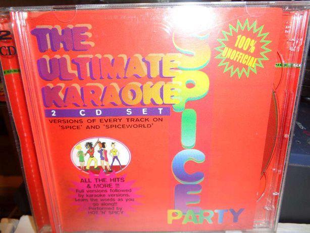 CD Duplo The Ultimate Karaoke spice party de música uno oficial