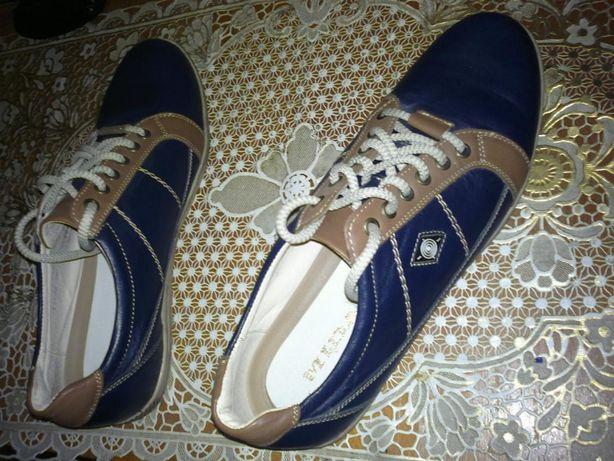 Красивые, модельные, фирменные, кожаные туфли-спорт Mida недорого!