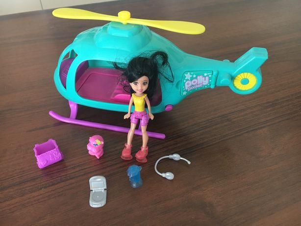 Polly packet autko, bananowa łódka, helikopter