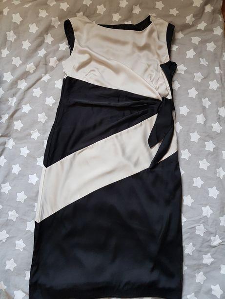 Sukienka 40 L elegancka wesele świeta do pracy suknia Mindi do kolan