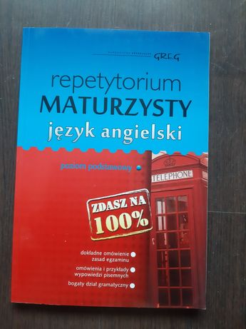 Repetytorium maturzysty język angielski poziom podstawowy