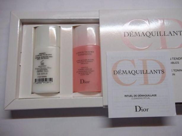 Набор C. Dior Demaquillant молочко+тоник(500р)