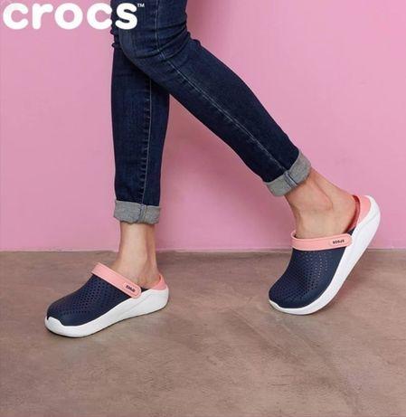 Кроксы женские Crocs LiteRide оригинал. Купить кроксы. Crocs сабо.