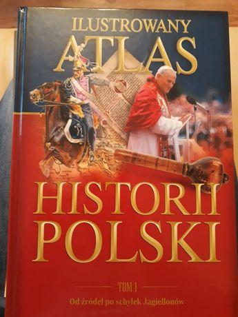 Ilustrowany atlas historii Polski, od źródeł po schyłek Jagiellonów