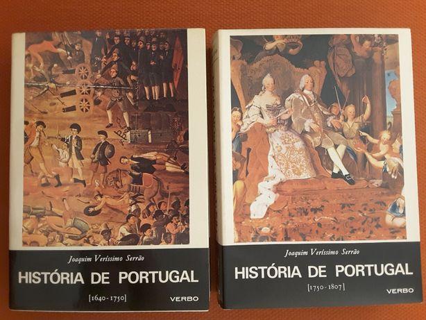J. V. Serrão: História de Portugal (vol. V e VI )/ Era Lisboa e Chovia