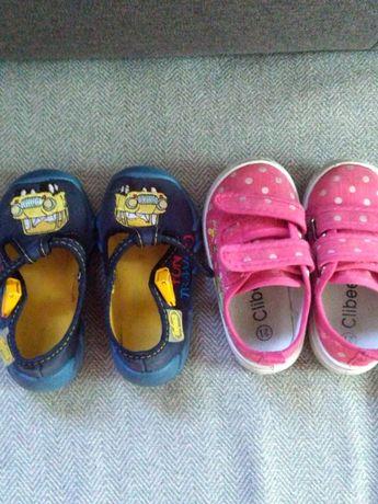 Sandałki trampki